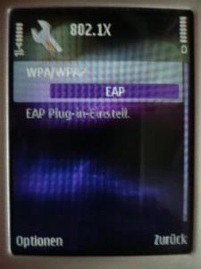 WPA/WPA2: EAP